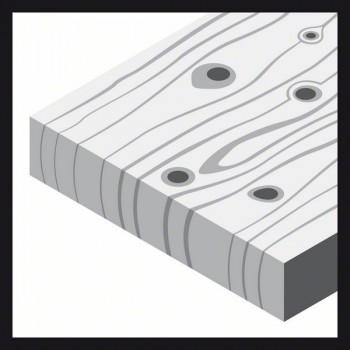 BOSCH 10-dielna súprava brúsnych listov F460 125 mm, 40</br> 60</br> 80</br> 120</br> 180