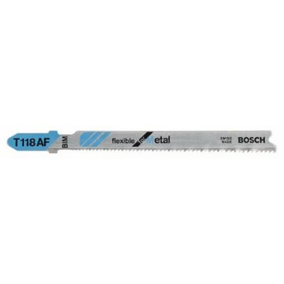 BOSCH Pílový list do priamočiarych píl T 118 AF Flexible for Metal