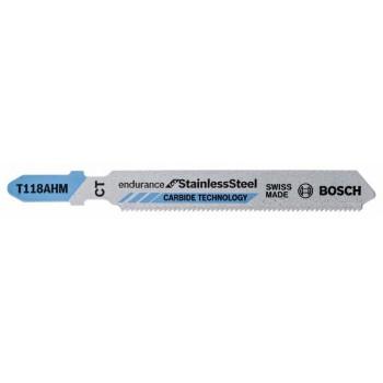 BOSCH Pílový list do priamočiarych píl T 118 AHM Special for Inox