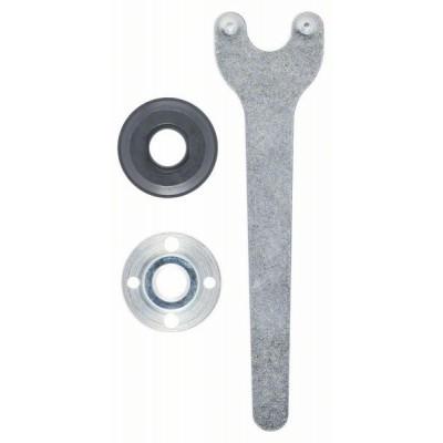 BOSCH 3-dielna súprava upínacích dielov pre malé uhlové brúsky -