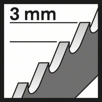 BOSCH Pílový list do priamočiarych píl T 111 C Basic for Wood