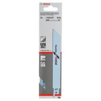 BOSCH Pílový list do chvostovej píly S 922 EF Flexible for Metal