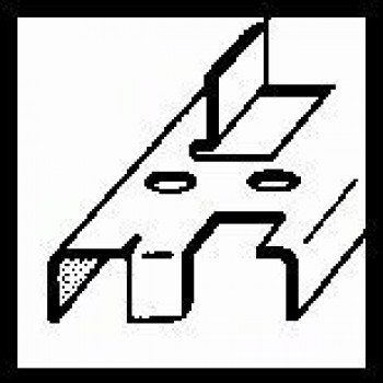 BOSCH Vrták do plechu, valcovitý 24-40 mm, 89 mm, 10 mm
