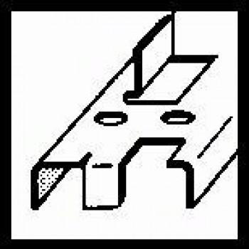 BOSCH Vrták do plechu, šesťhranná stopka 3-14 mm, 60 mm, 1/4