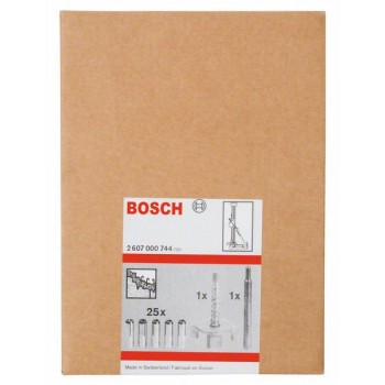 BOSCH 27-dielna upevňovacia súprava do betónu 15 mm