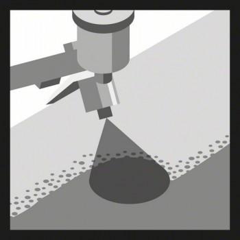 BOSCH 10-dielna súprava brúsnych listov C470 125 mm, 40