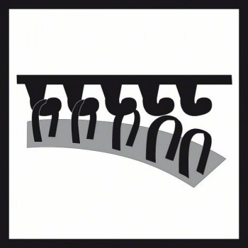 Bosch 10-dielna súprava brúsnych listov F355 115 mm, 60