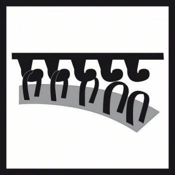 BOSCH 10-dielna súprava brúsnych listov F355 115 mm, 80
