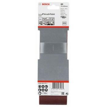 BOSCH 3-dielna súprava brúsnych pásov X440 75x533mm, 60