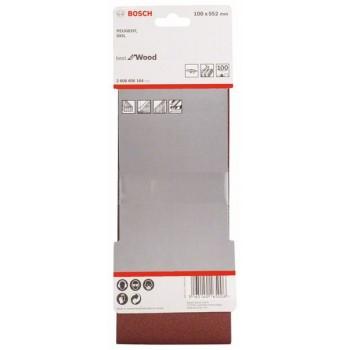 BOSCH 3-dielna súprava brúsnych pásov X440 100x552mm, 100
