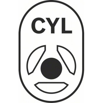 BOSCH Vrtáky do betónu CYL-3 5 x 50 x 85 mm, d 4,5 mm