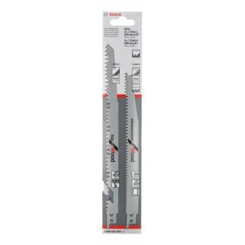 BOSCH 2-dielna súprava pílových listov do chvostovej píly S 1531 L; S 2345 X