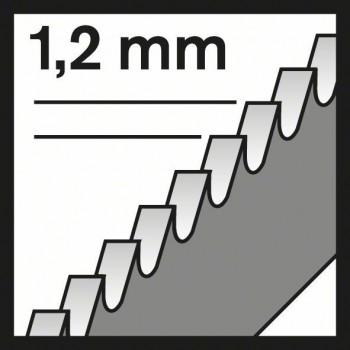 BOSCH Pílový list do priamočiarych píl T 318 A Basic for Metal