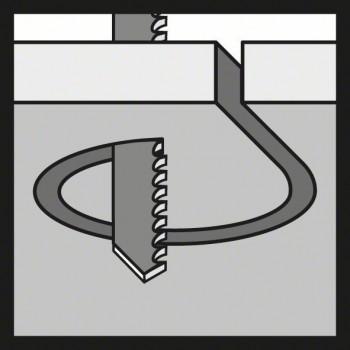 BOSCH Pílový list do priamočiarych píl T 218 A Basic for Metal