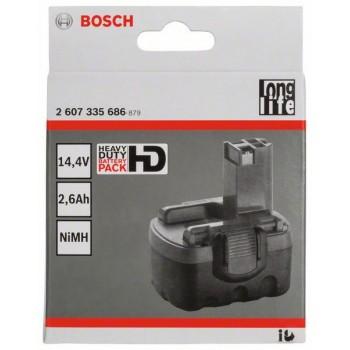 BOSCH 14,4 V O-akumulátor Standard Duty (SD), 2,6 Ah, NiMH
