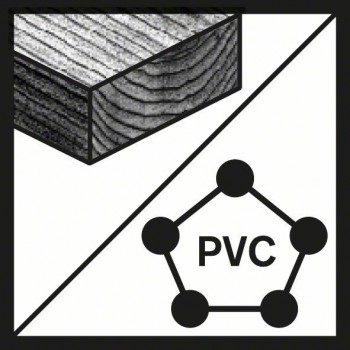 BOSCH Dierové píly Endurance for Multi Construction 58 mm, 4