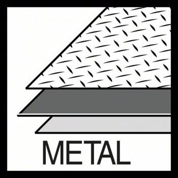 BOSCH Dierová píla na plech Sheet Metal 17 mm, 11/16