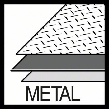 BOSCH Dierová píla na plech Sheet Metal 51 mm, 2