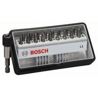 BOSCH 18+1-dielna súprava skrutkovacích hrotov Robust Line L Extra Hart 25 mm, 18+1-dielna súprava