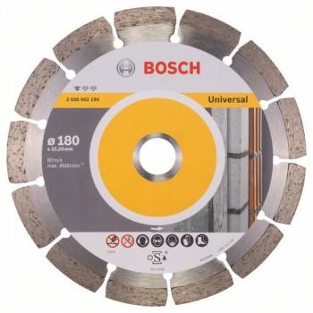 BOSCH Diamantový rezací kotúč Standard for Universal 180 x 22,23 x 2 x 10 mm