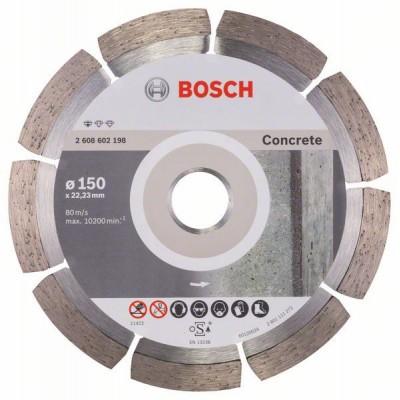 BOSCH Diamantový rezací kotúč Standard for Concrete 150 x 22,23 x 2 x 10 mm
