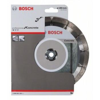 BOSCH Diamantový rezací kotúč Standard for Concrete 180 x 22,23 x 2 x 10 mm