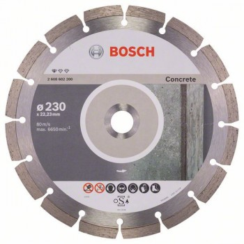 BOSCH Diamantový rezací kotúč Standard for Concrete 230 x 22,23 x 2,3 x 10 mm