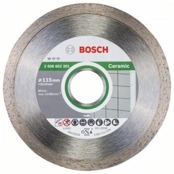 BOSCH Diamantový rezací kotúč Standard for Ceramic 115 x 22,23 x 1,6 x 7 mm