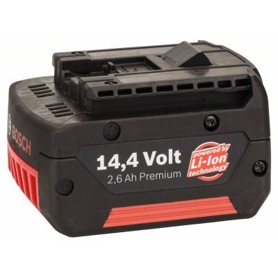 BOSCH 14,4 V-zásuvný akumulátor Standard Duty (SD), 2,6 Ah, Li-Ion, GBA M-C