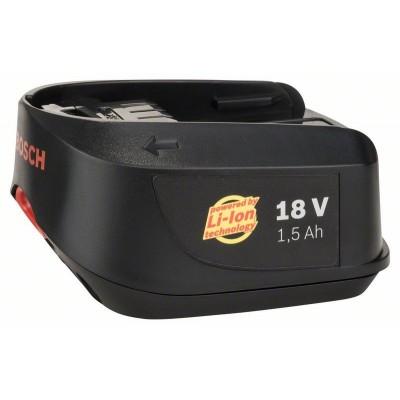 BOSCH 18 V zásuvný akumulátor 18 V, 1,5 Ah, Li-Ion