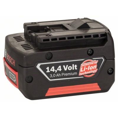 BOSCH 14,4 V-zásuvný akumulátor Standard Duty (SD), 3 Ah, Li-Ion, GBA M-C