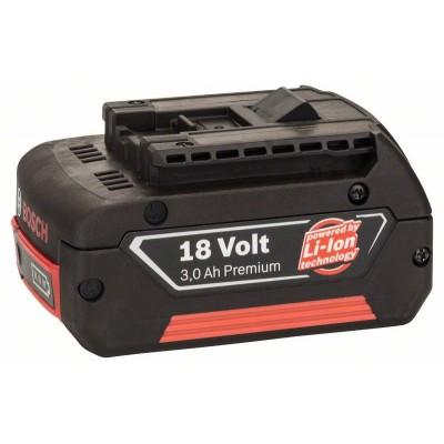 BOSCH 18 V-zásuvný akumulátor Standard Duty (SD), 3 Ah, Li-Ion, GBA M-C