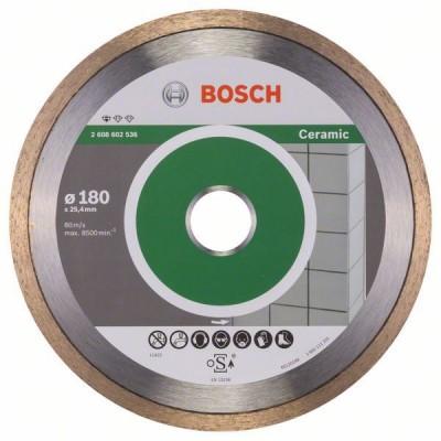 BOSCH Diamantový rezací kotúč Standard for Ceramic 180 x 25,40 x 1,6 x 7 mm