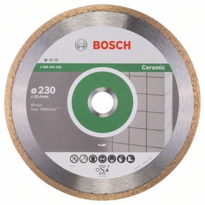 BOSCH Diamantový rezací kotúč Standard for Ceramic 230 x 25,40 x 1,6 x 7 mm