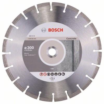 BOSCH Diamantový rezací kotúč Standard for Concrete 300 x 22,23 x 3,1 x 10 mm