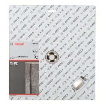 BOSCH Diamantový rezací kotúč Standard for Concrete 300 x 20/25,40 x 2,8 x 10 mm