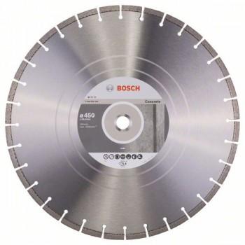BOSCH Diamantový rezací kotúč Standard for Concrete 450 x 25,40 x 3,6 x 10 mm