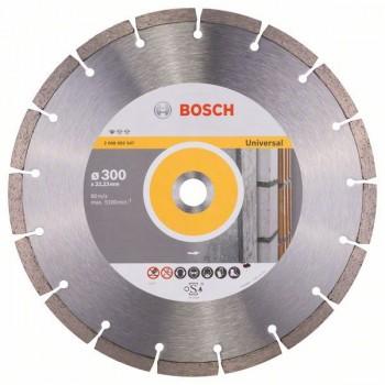 BOSCH Diamantový rezací kotúč Standard for Universal 300 x 22,23 x 3,1 x 10 mm