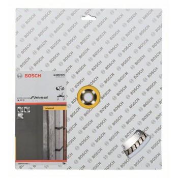 BOSCH Diamantový rezací kotúč Standard for Universal Turbo 300 x 20/25,40 x 3 x 10 mm