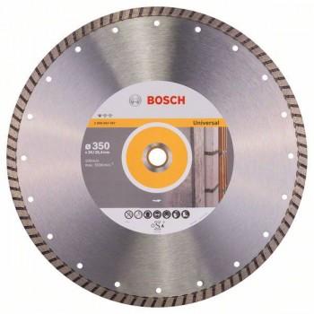 BOSCH Diamantový rezací kotúč Standard for Universal Turbo 350 x 20/25,40 x 3 x 10 mm