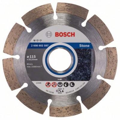 BOSCH Diamantový rezací kotúč Standard for Stone 115 x 22,23 x 1,6 x 10 mm