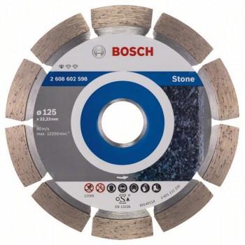 BOSCH Diamantový rezací kotúč Standard for Stone 125 x 22,23 x 1,6 x 10 mm