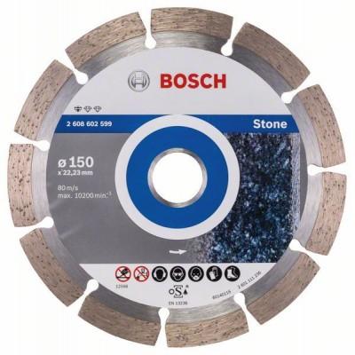 BOSCH Diamantový rezací kotúč Standard for Stone 150 x 22,23 x 2 x 10 mm