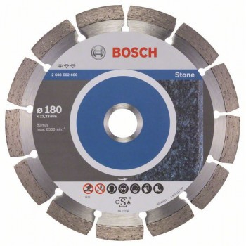 BOSCH Diamantový rezací kotúč Standard for Stone 180 x 22,23 x 2 x 10 mm
