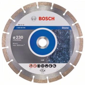 BOSCH Diamantový rezací kotúč Standard for Stone 230 x 22,23 x 2,3 x 10 mm