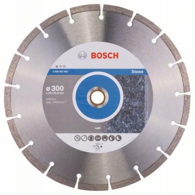BOSCH Diamantový rezací kotúč Standard for Stone 300 x 20/25,40 x 3,1 x 10 mm