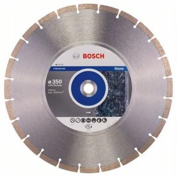 BOSCH Diamantový rezací kotúč Standard for Stone 350 x 20/25,40 x 3,1 x 10 mm