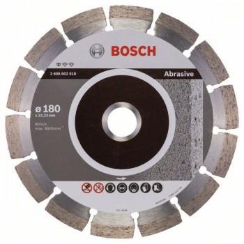 BOSCH Diamantový rezací kotúč Standard for Abrasive 180 x 22,23 x 2 x 10 mm