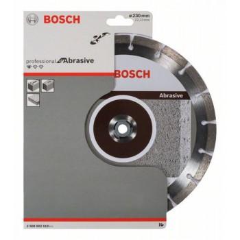 BOSCH Diamantový rezací kotúč Standard for Abrasive 230 x 22,23 x 2,3 x 10 mm