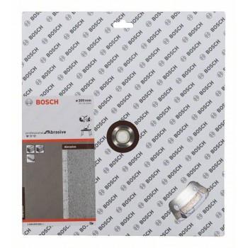 BOSCH Diamantový rezací kotúč Standard for Abrasive 300 x 20/25,40 x 2,8 x 10 mm